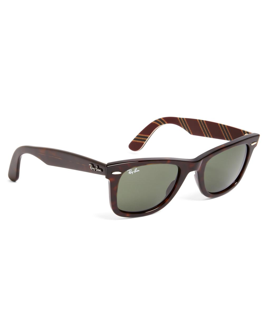 1893bd8509 Brooks Brothers Ray-ban® Wayfarer Sunglasses With Burgundy Bb 1 Rep ...