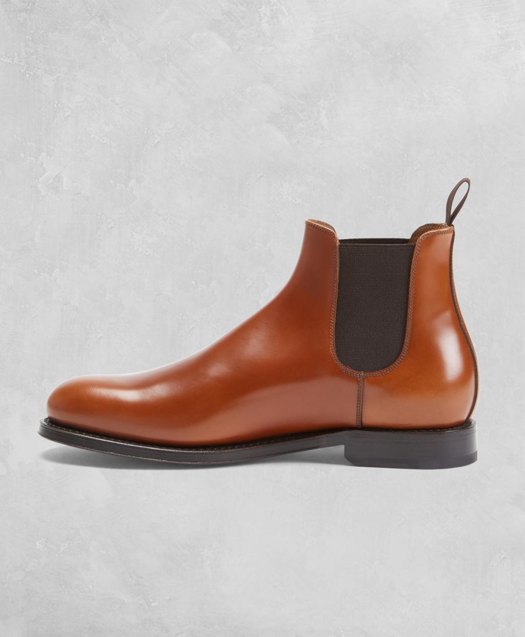 97fbf2baf67 Lyst - Brooks Brothers Golden Fleece Chelsea Boots in Brown for Men