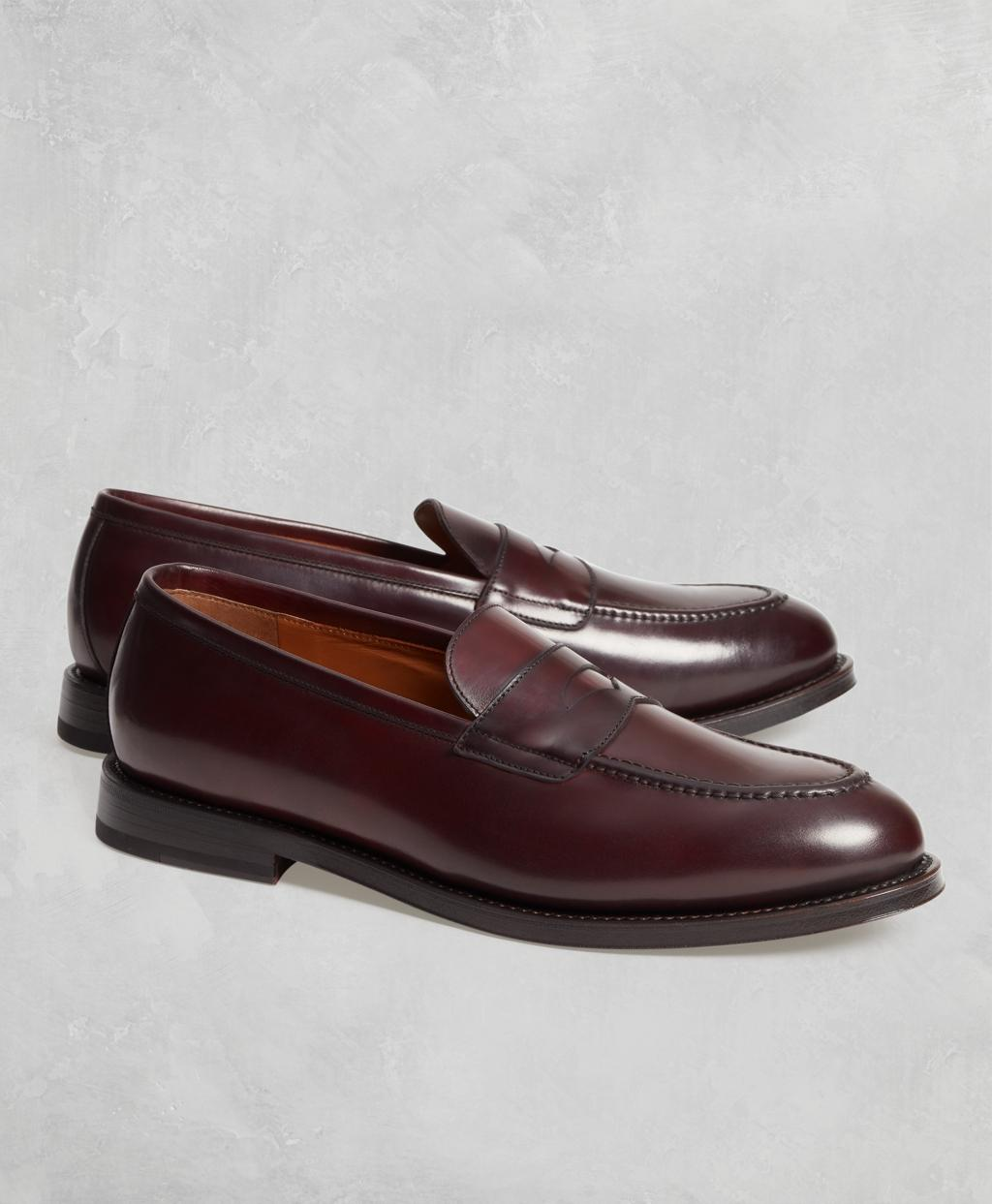 c99debcc5ad Lyst - Brooks Brothers Golden Fleece Cordovan Penny Loafers for Men