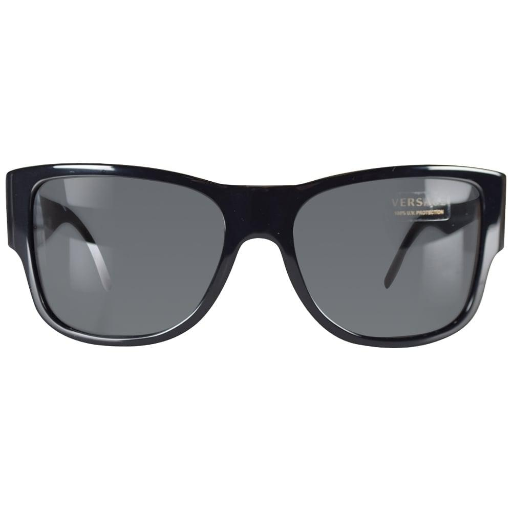 9b60fceb589e Versace - Multicolor Black Medusa Wayfarer Sunglasses for Men - Lyst. View  fullscreen