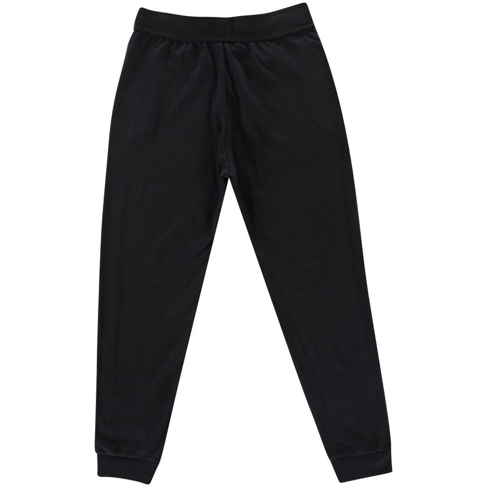 12ec0a3f24b4 Lyst - BOSS Black grey Stripe Detailing Track Pants in Black for Men