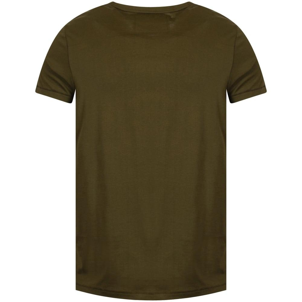 99de1d695044 True Religion Olive Stripe T-shirt in Green for Men - Lyst