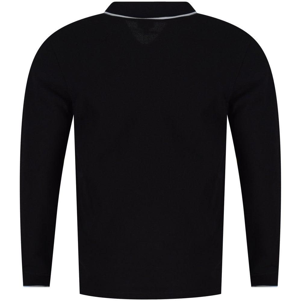 KENZO - Black Tiger Embroidered Long Sleeve Polo Shirt for Men - Lyst. View  fullscreen 26502c98bbd
