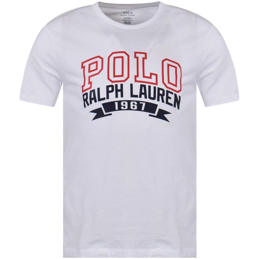 Lyst Polo Ralph Lauren White 1967 Logo T Shirt In White For Men