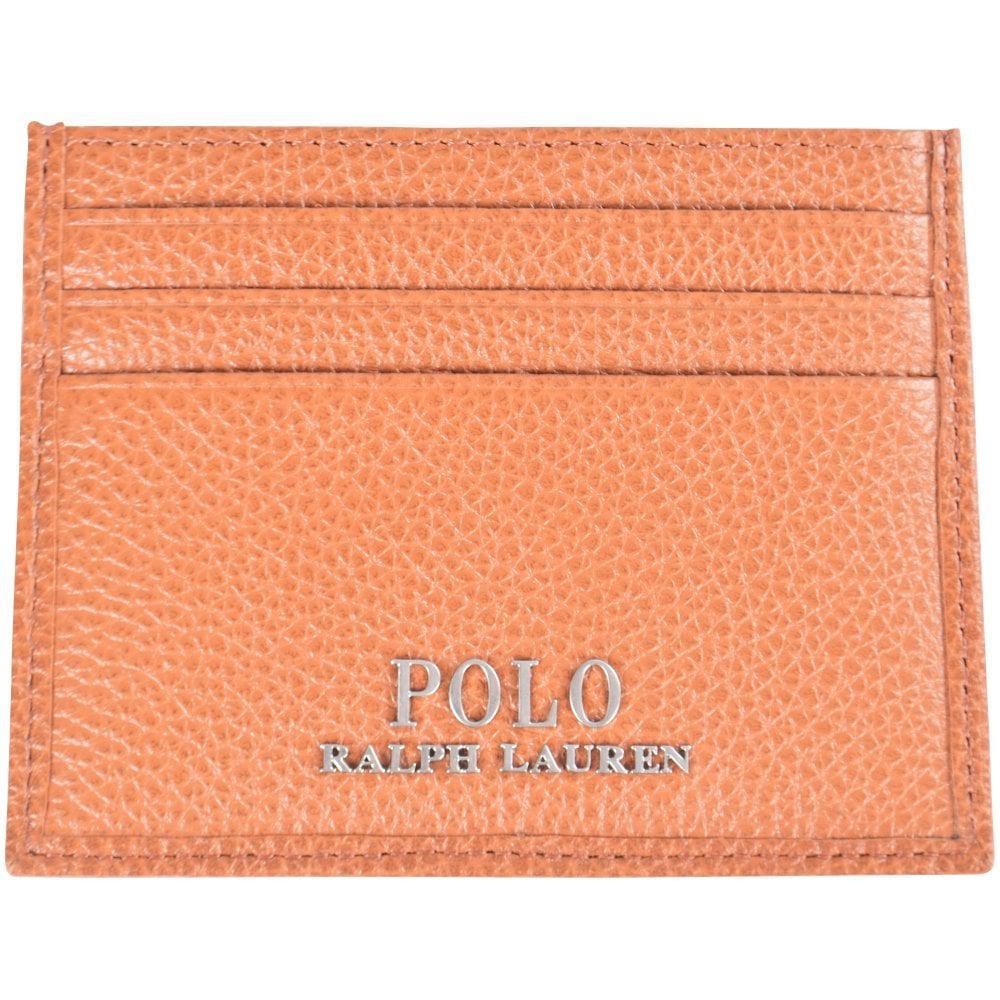 66ced88da9c7 Lyst - Polo Ralph Lauren Brown Card Holder in Brown for Men