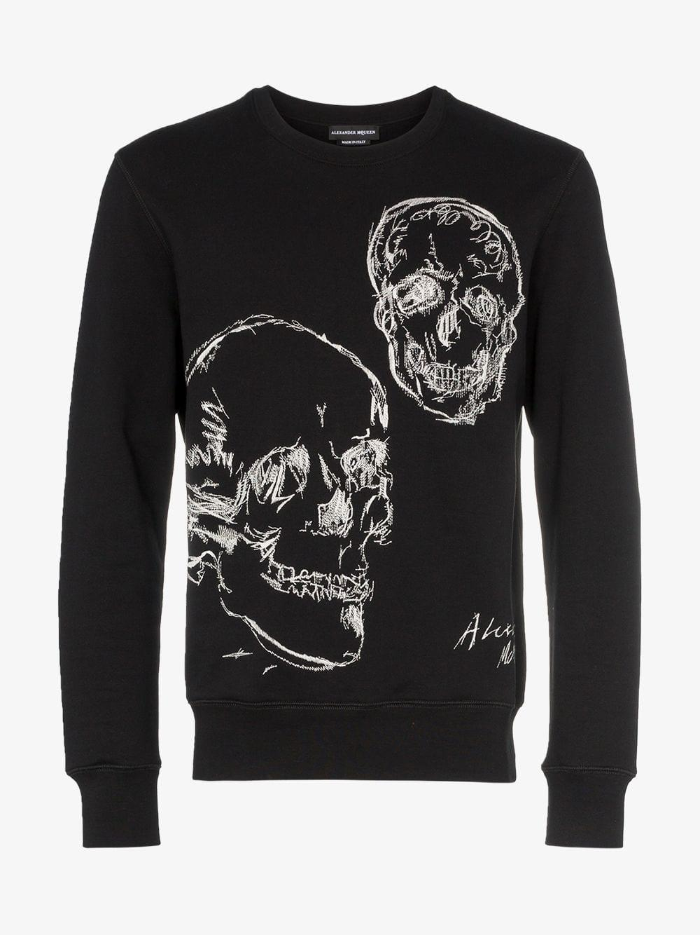 3b1918ba769 alexander-mcqueen-0901-black-Embroidered-Skull-Motif-Cotton-And-Wool-Sweater.jpeg