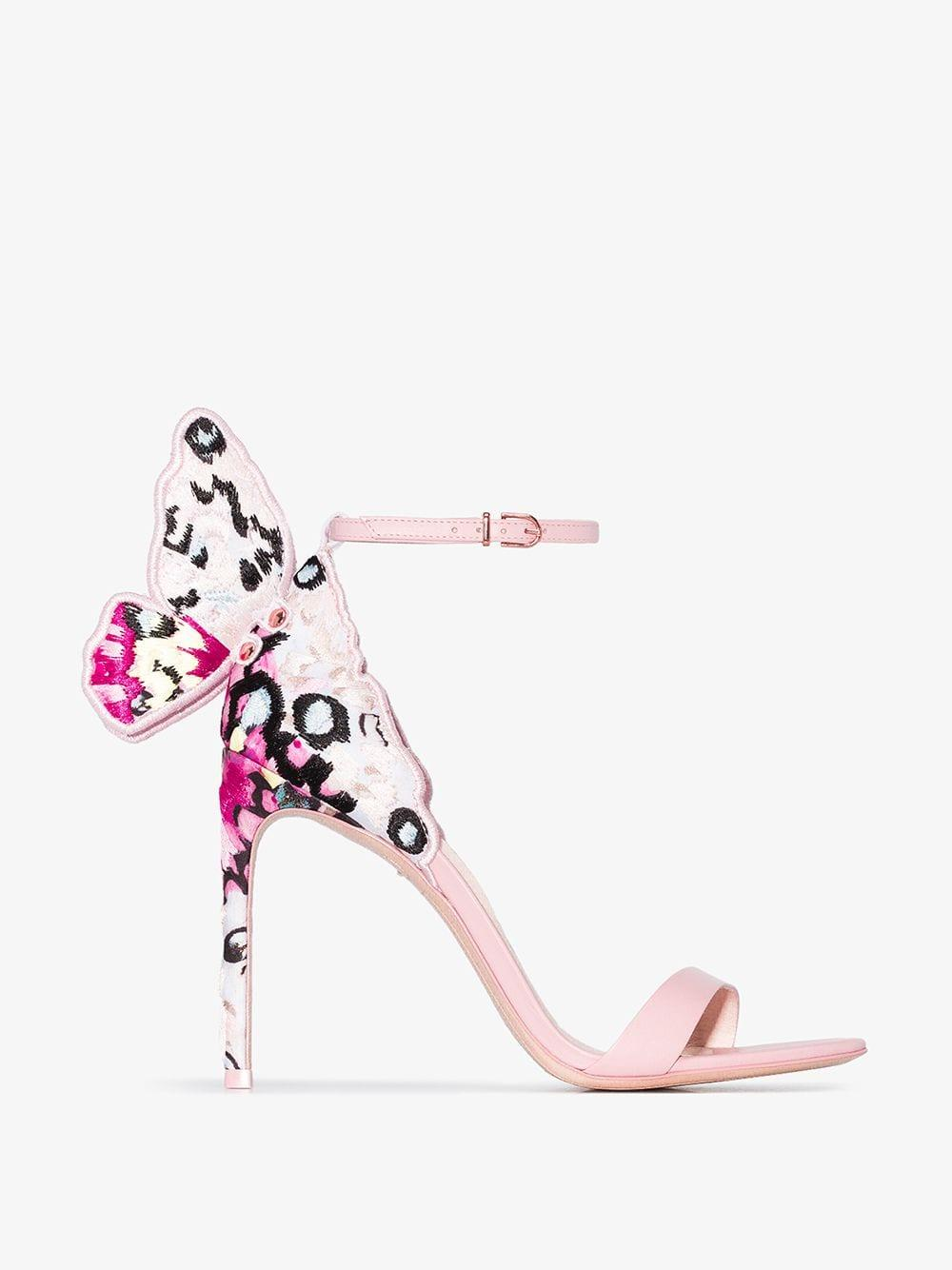 d8535682e7 Sophia Webster Chiara 100mm Butterfly Sandals in Pink - Save 5% - Lyst