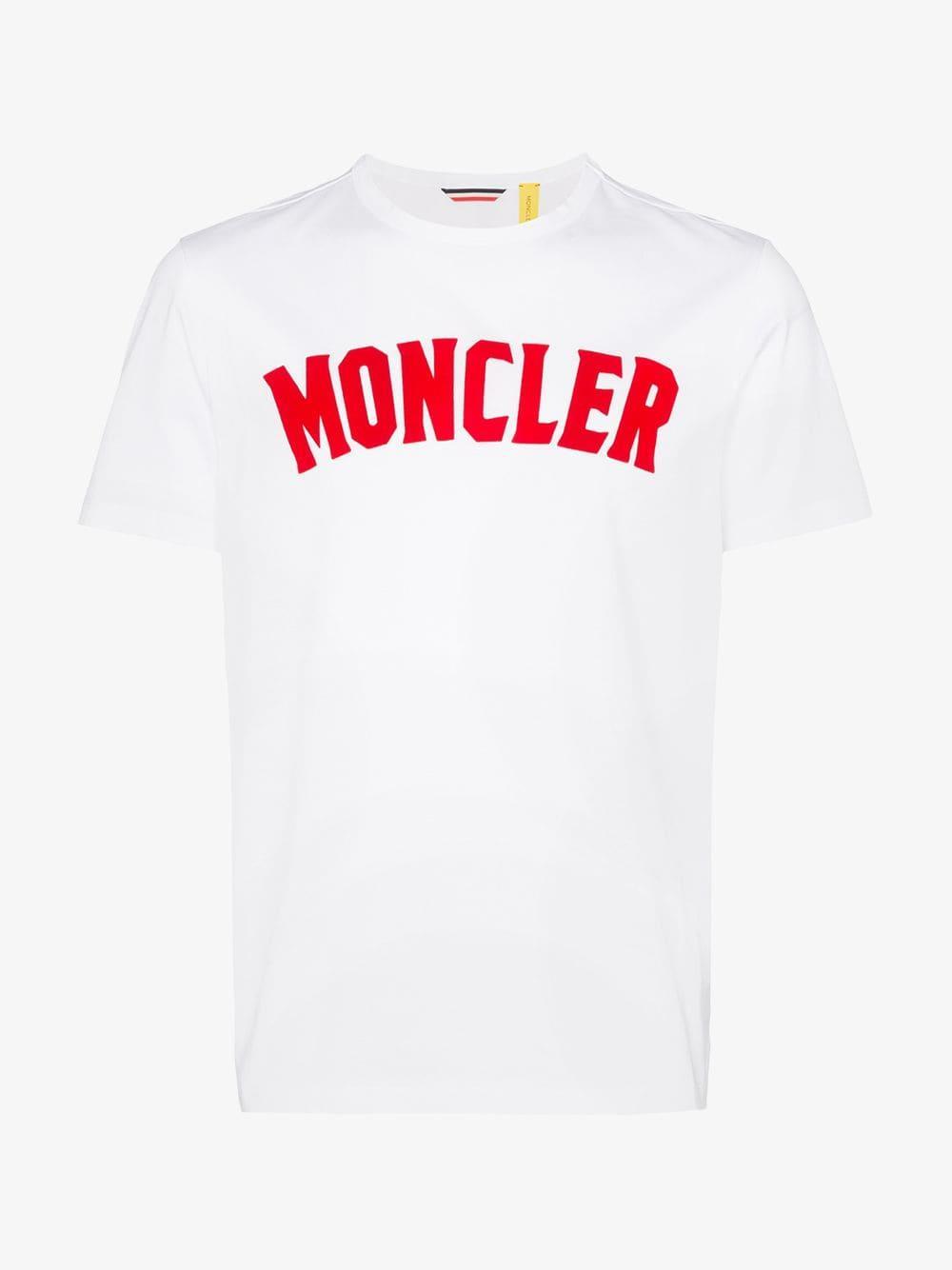 ad92e42b4 Moncler Genius 2 Moncler 1952 Logo Cotton T-shirt in White for Men ...