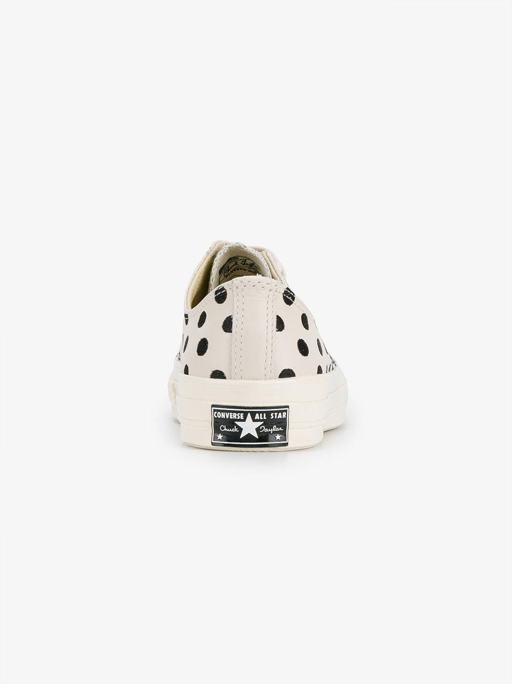 57763177c53a Lyst - Converse All Star 70s Polka Dot Sneakers for Men