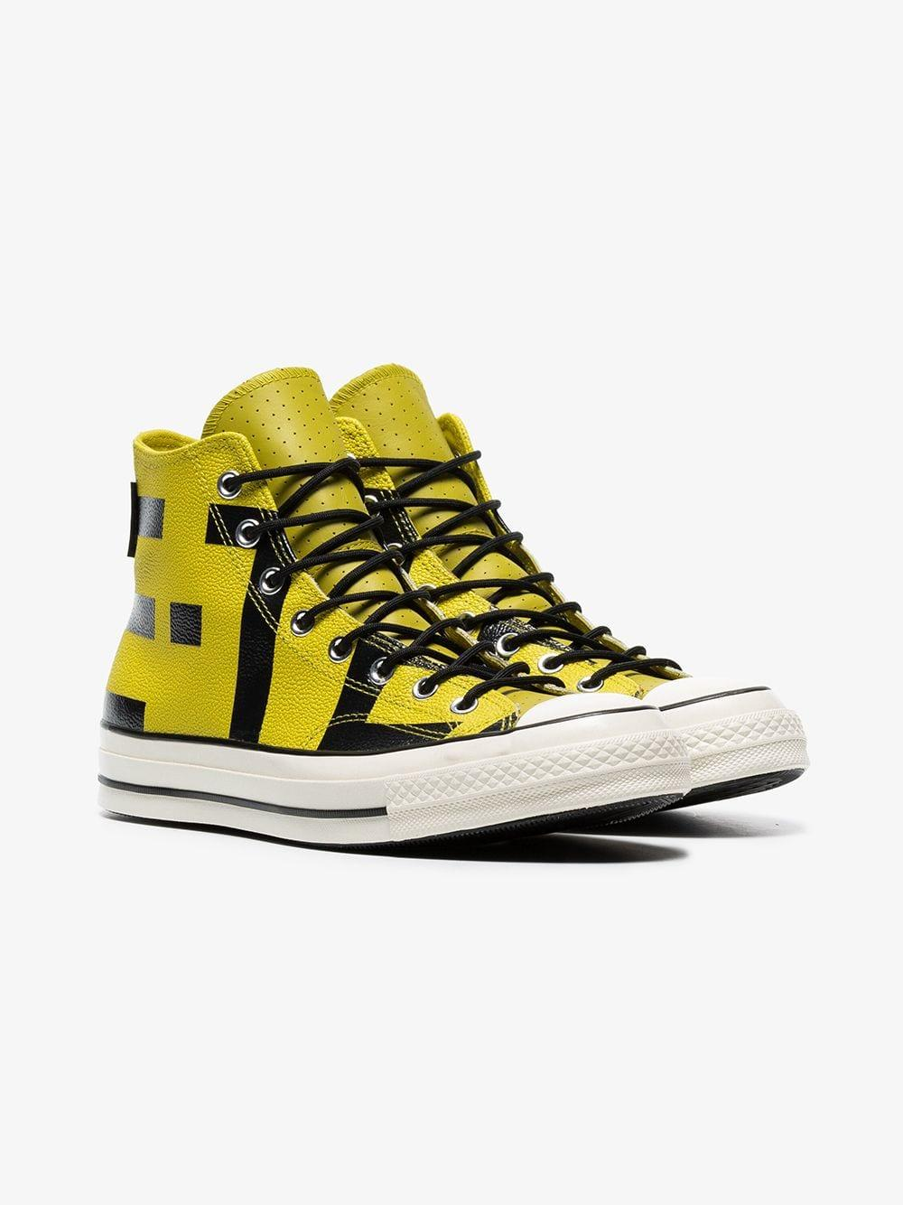 055dcf766ea Lyst - Converse Yellow Chuck Taylor Goretex Sneakers in Yellow for ...