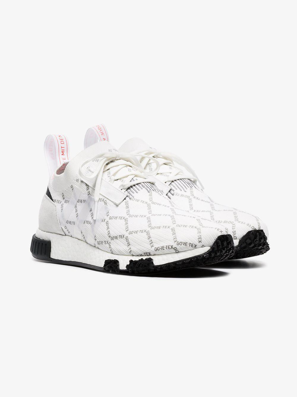 c791abc4cf710 Lyst - adidas White Gtx Racer Nmd Trainers in White for Men