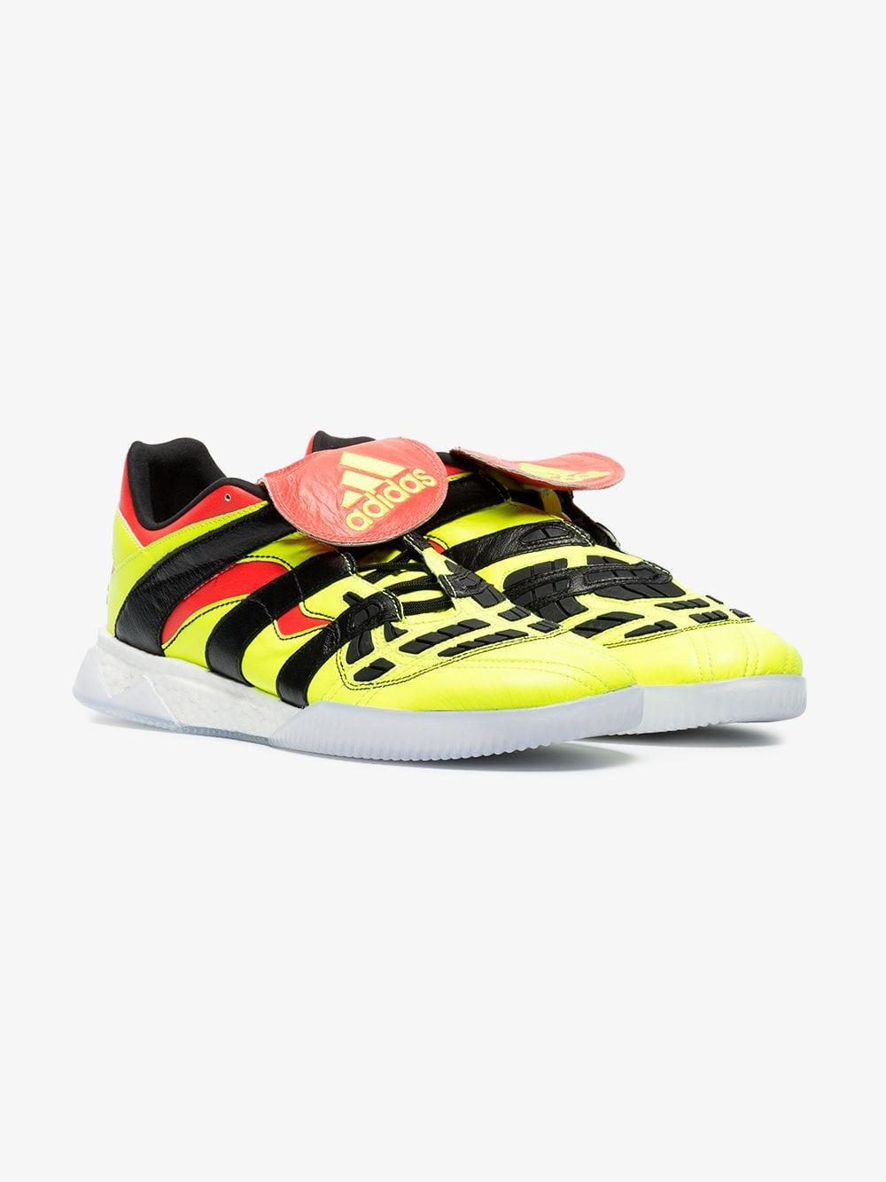 4f45f8fef adidas Yellow, Black And Red Predator Accelerator Trainer in Yellow ...