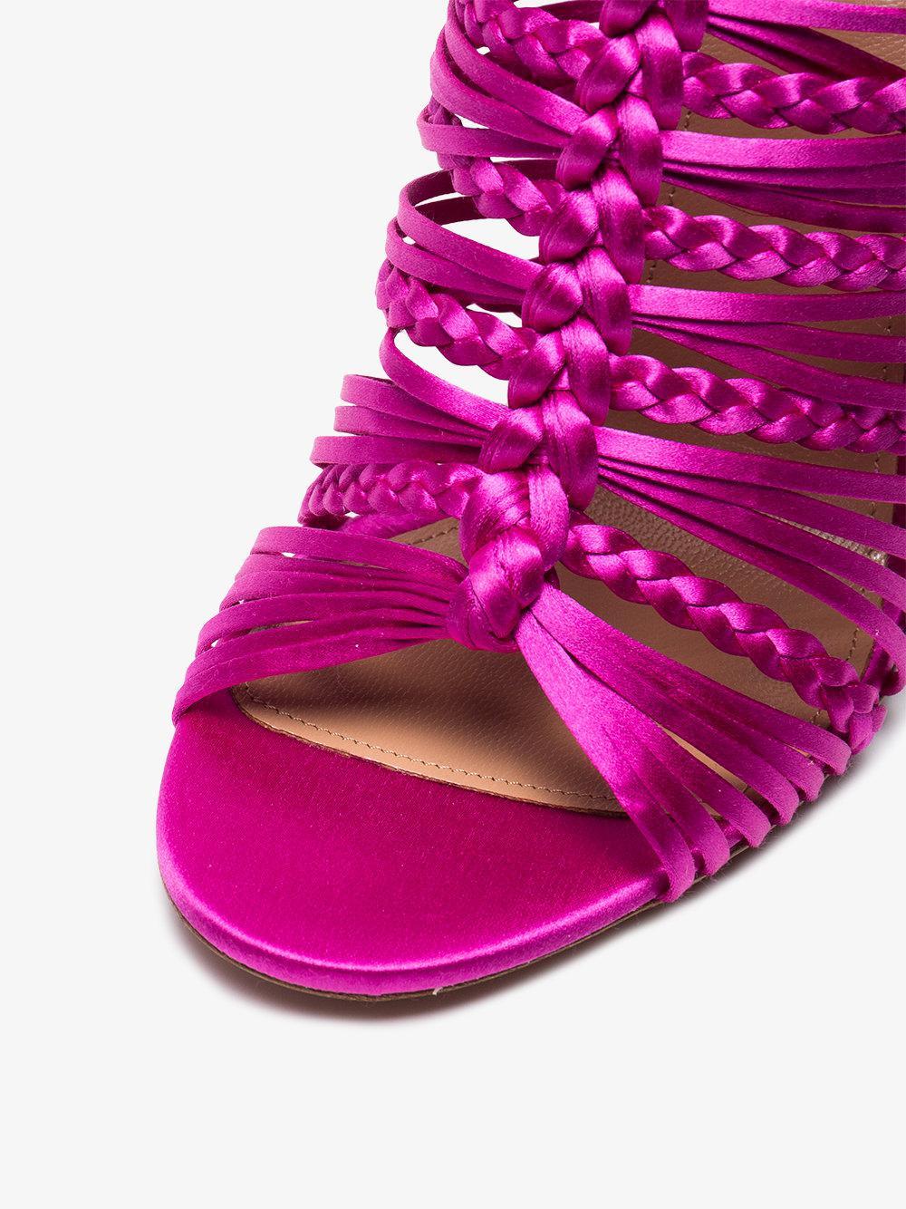 0dc134a8ec1 Lyst - Aquazzura Goddess 105 Sandals