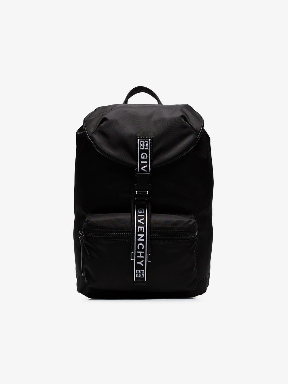 9f12891e00fa Lyst - Givenchy Ultra Light Nylon Backpack W  4g Webbing in Black ...