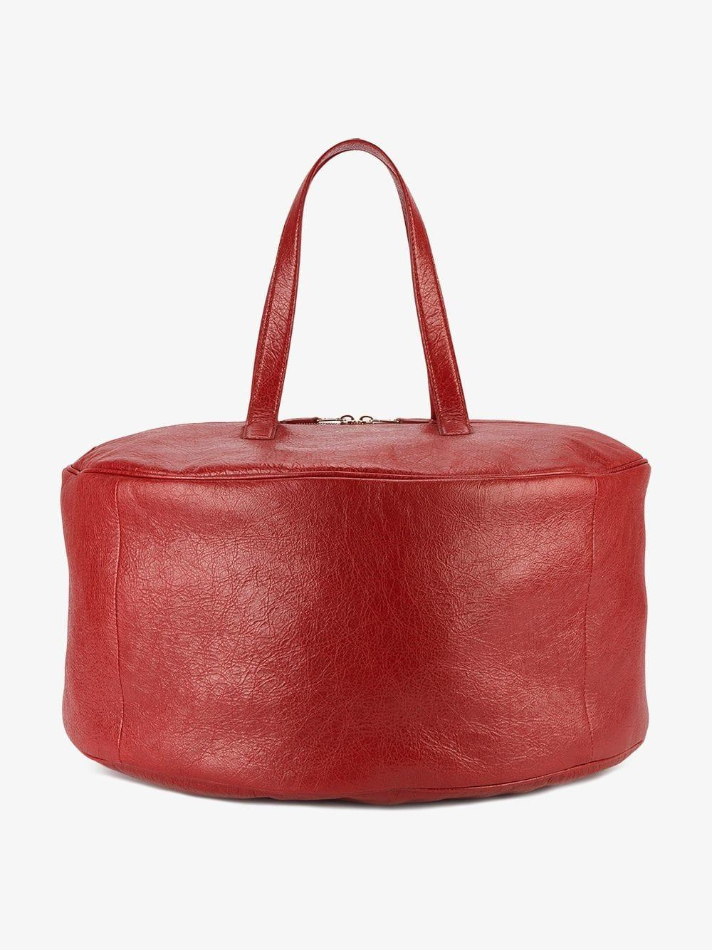 1543825e2603 Balenciaga - Large Red Air Hobo Tote Bag - Lyst. View fullscreen
