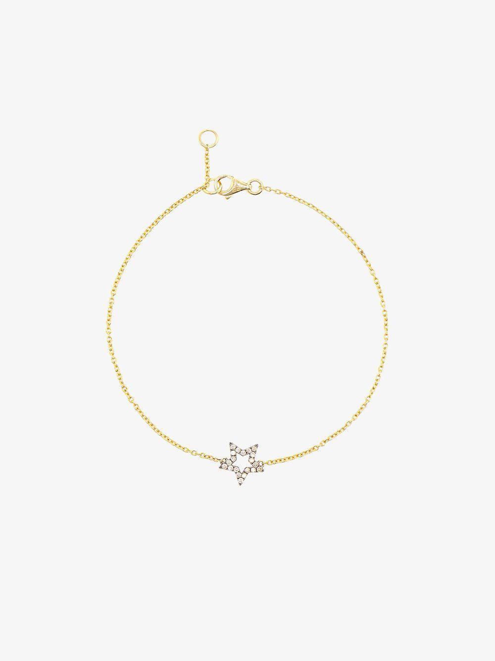 Rosa De La Cruz turquoise star charm bracelet - Metallic G7PicQyQ