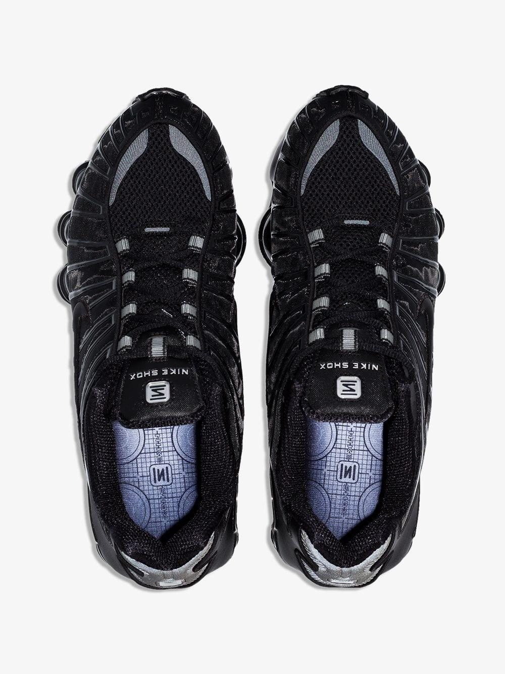 new style 4823a 23d6f Nike - Black Shox Tl Low-top Sneakers for Men - Lyst. View fullscreen