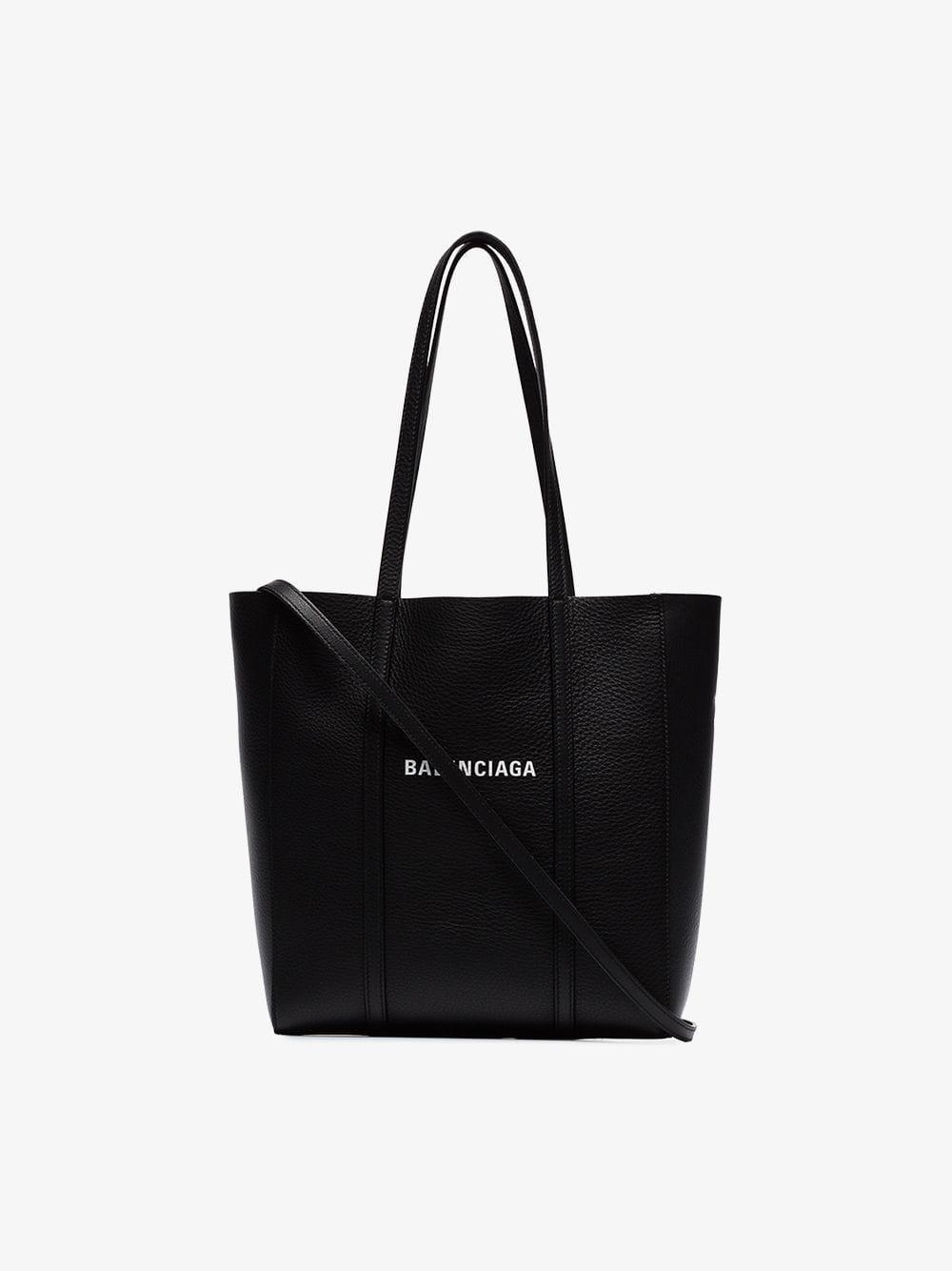 8112e6be5f78 Balenciaga - Black Everyday Xs Leather Tote - Lyst. View fullscreen