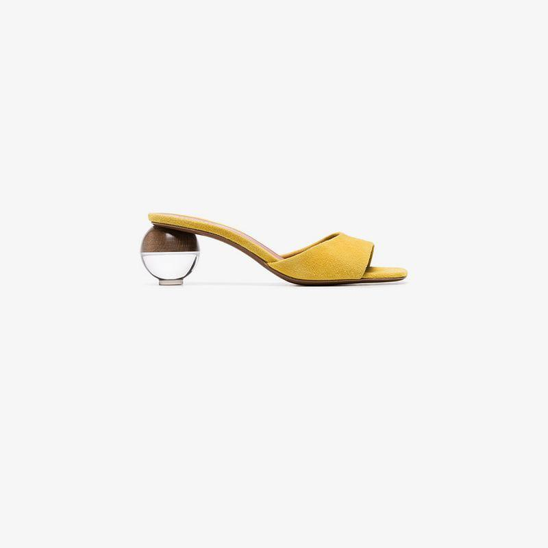 Women's Neous Yellow Qufsq7pwrx Heel 55 Opus Sandals Sphere TIrSIq