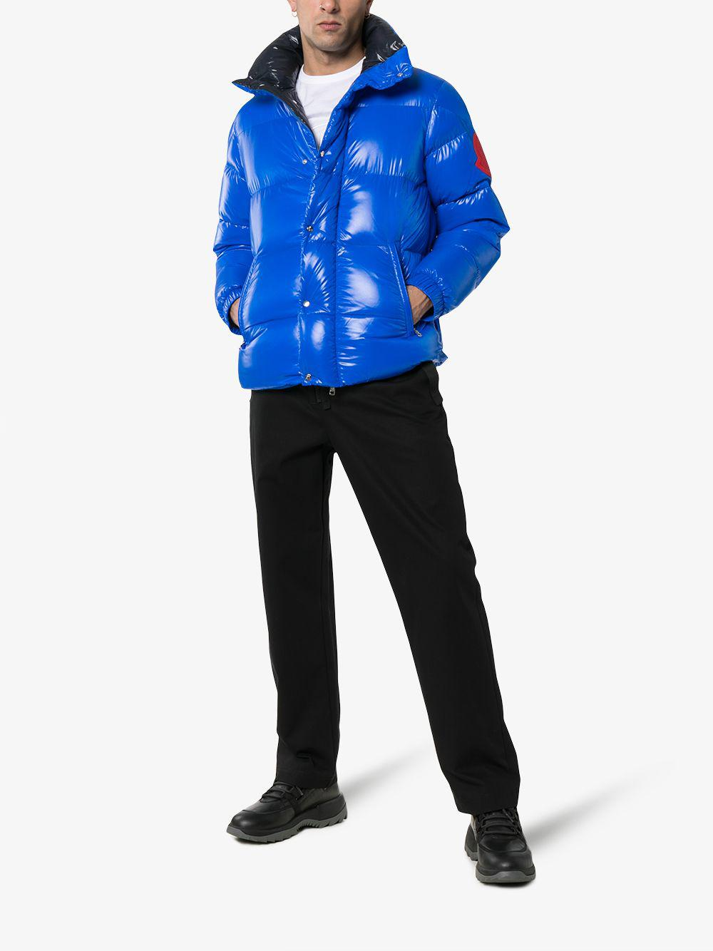 5506e4457 Lyst - Moncler Genius Dervaux Quilted Shell Down Jacket in Red for Men