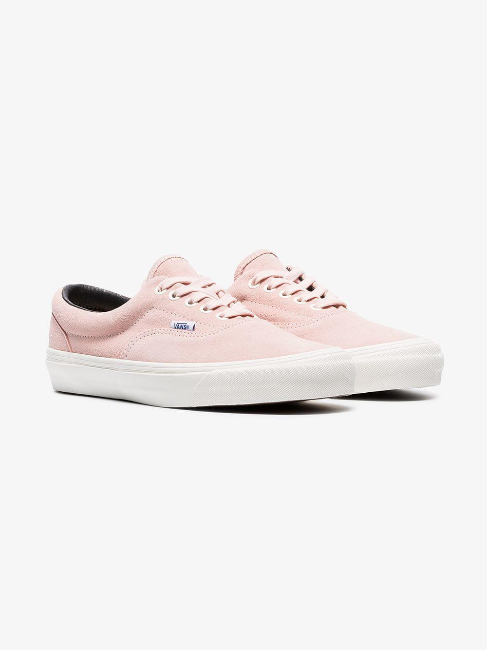 dd85a55164 Lyst - Vans Pink Vault Cotton Low Top Sneakers in Pink for Men
