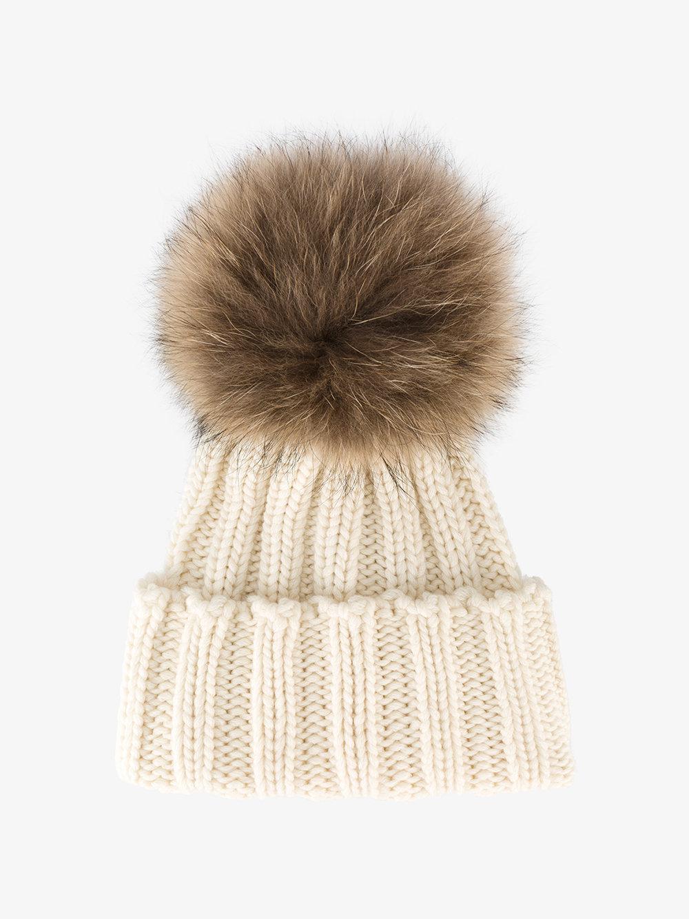 racoon fur bobble hat inverni exfhhJ