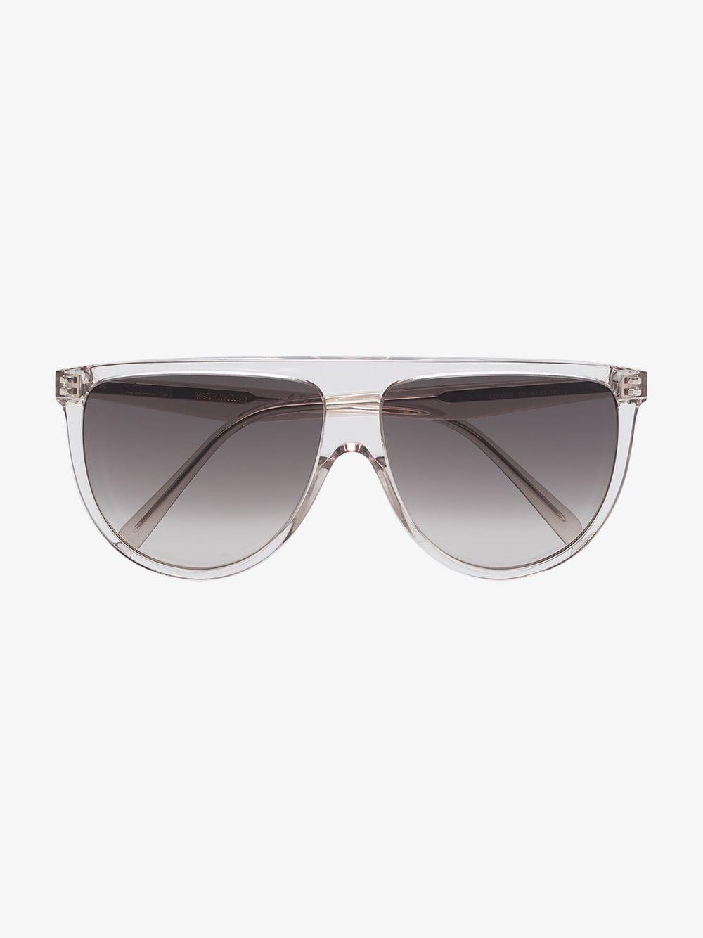 56af9e16086 Céline Celine Eyewear Aviator Sunglasses in Gray - Lyst