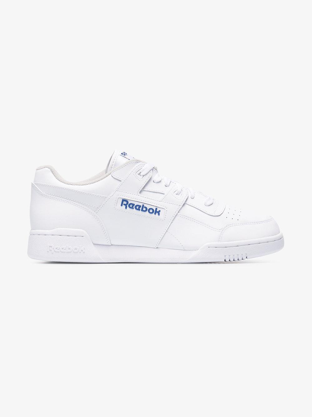 7f4c3f76a Reebok Workout Plus Low-top Sneakers in White for Men - Lyst