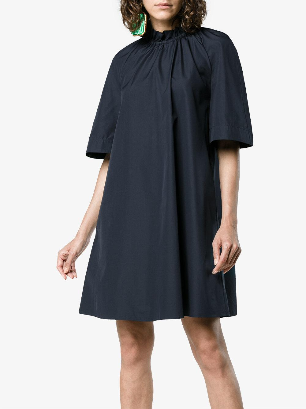 Daena Cotton Dress - Blue Roksanda Ilincic From China 100% Authentic Online Pick A Best 3KV7z66kYt