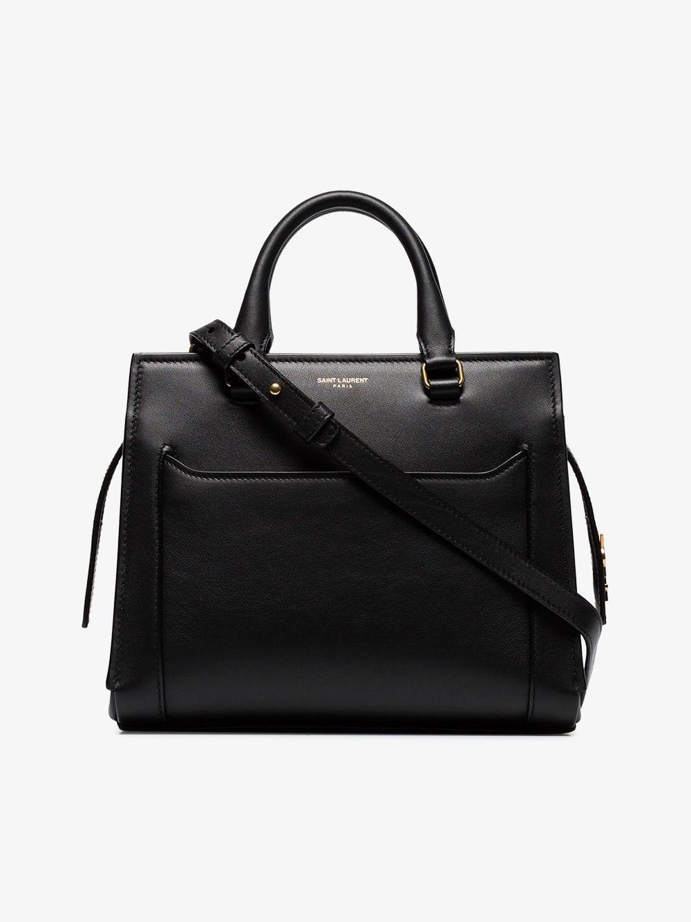 3d701fed9eae Saint Laurent Eastside Baby Cabas Shoulder Bag in Black - Lyst