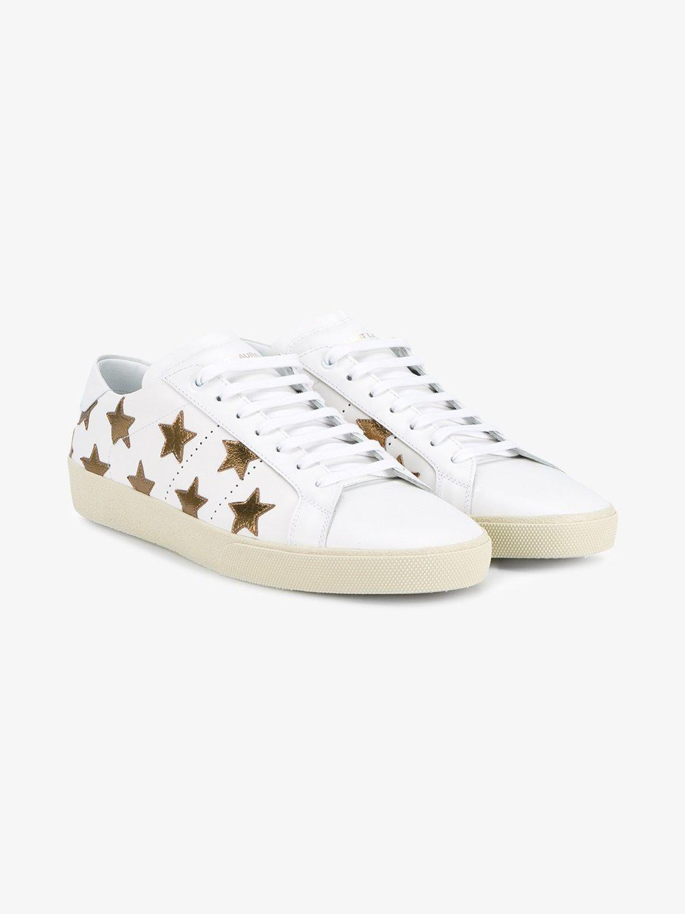 stars patches sneakers Saint Laurent