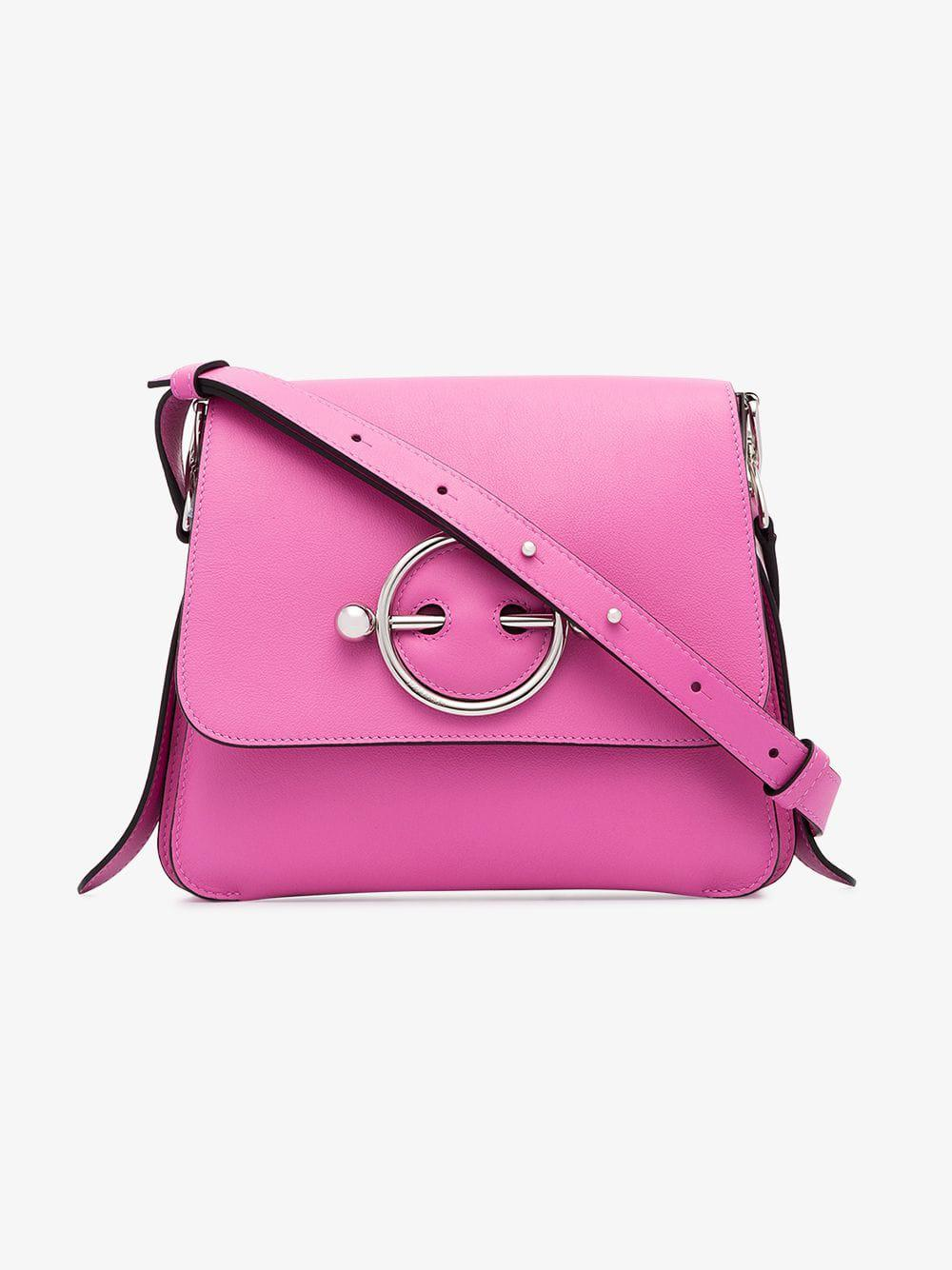 J.W. Anderson - Disc Pink Leather Cross-body Bag - Lyst. View fullscreen 7935d595972a2
