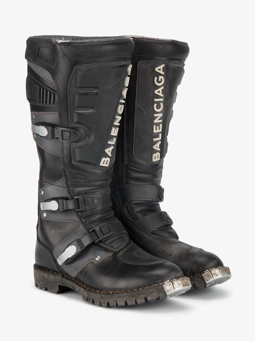 Balenciaga Biker Boots BeKD2D