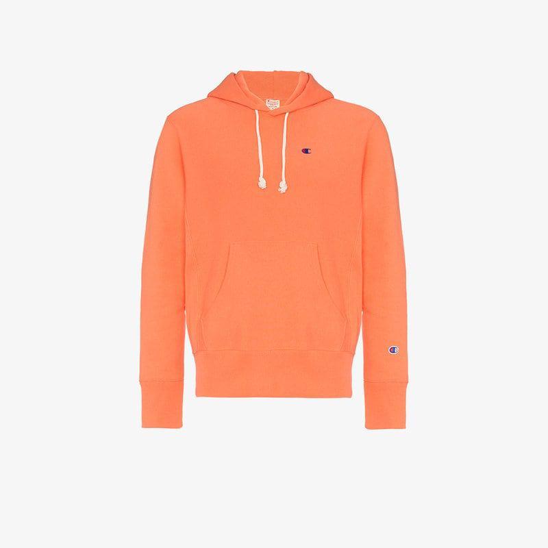 Hoodie Men's Cotton Reverse Orange Weave Champion Terry Y6SHAqWW