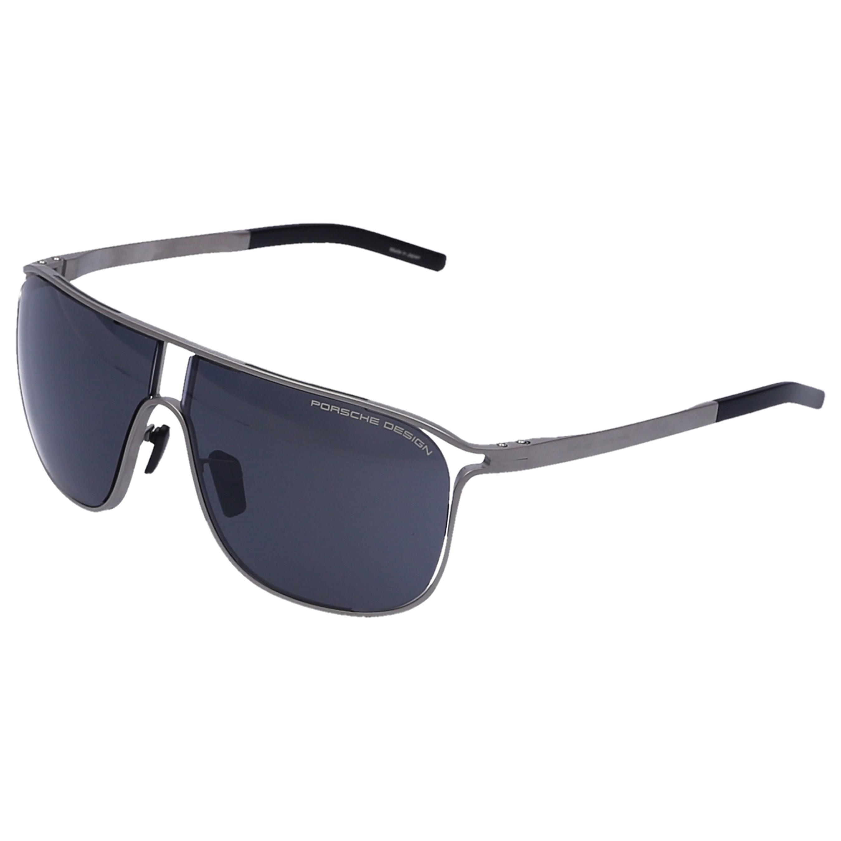 4f14b6fb74 Lyst - Porsche Design Men Sunglasses Aviator 8663 Titanium Silver in ...