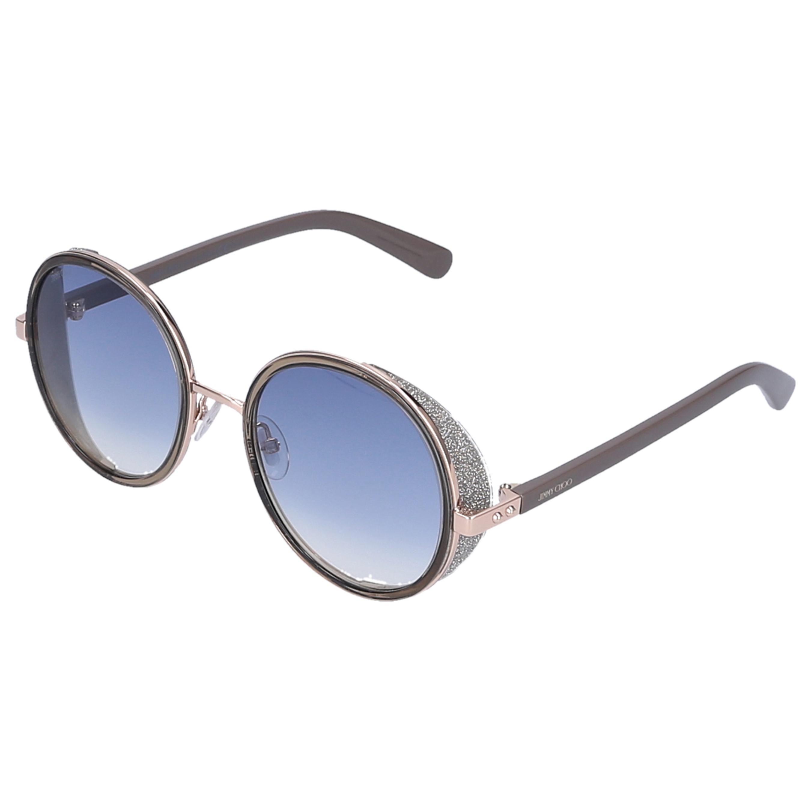 77ae63da0da Jimmy Choo - Multicolor Sunglasses Round Andie Metal Grey - Lyst. View  fullscreen