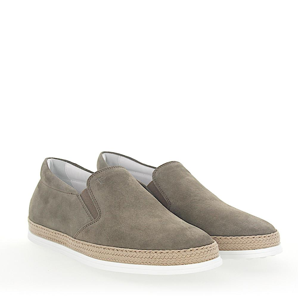 Slipper V0K900 suede taupe Tod's