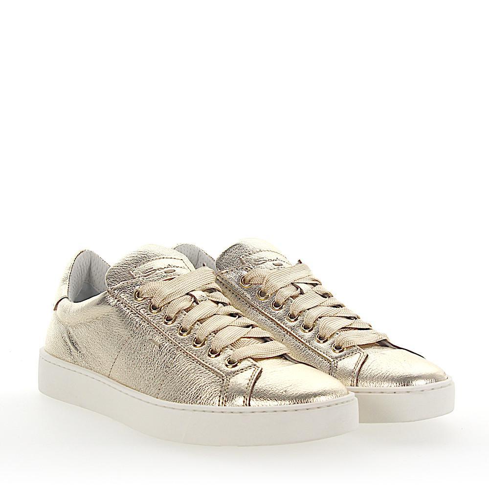 santoni Sneakers 60164 leather metallic iQZNg