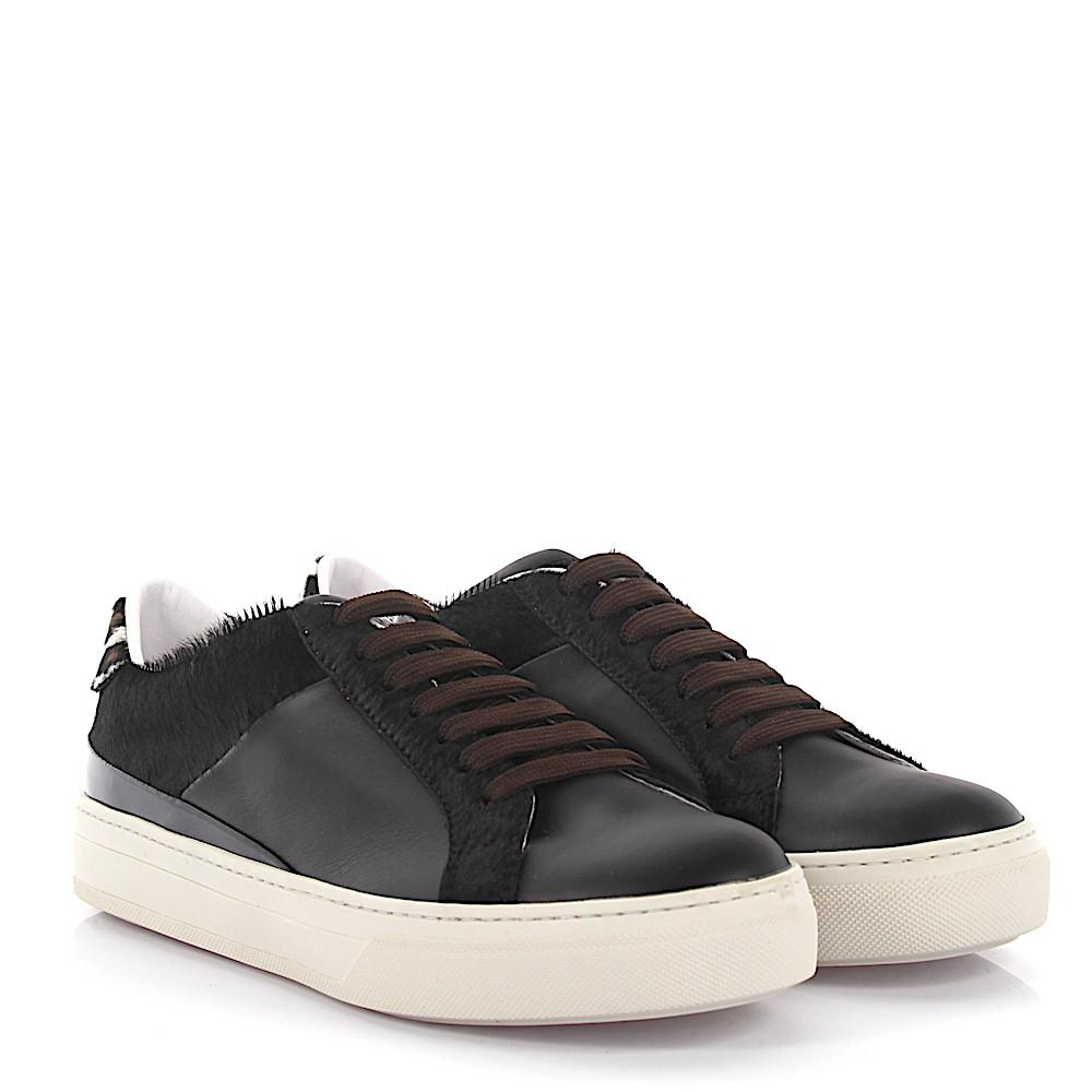 Outlet Manchester Discount Cost Tods Sneaker Sportivo XK leather pony black Tod's Cheap Sale Wholesale Price BE5iusTv