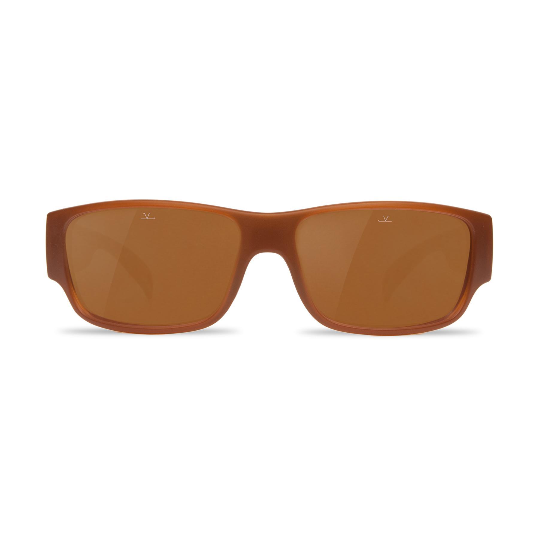 6e5e64758c Lyst - Vuarnet Polarized Sunglasses Rider Nylon Amber in Brown for Men