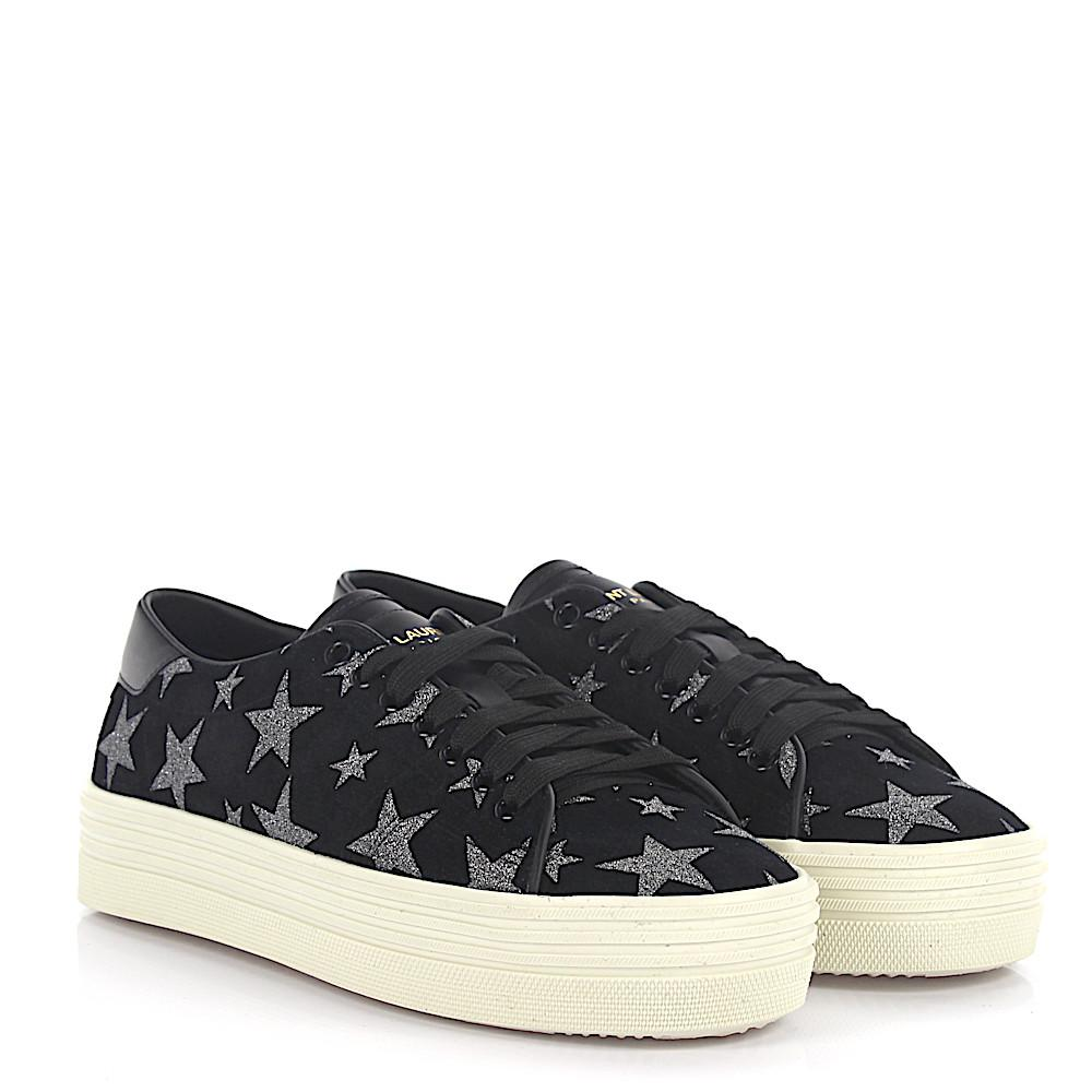 Saint Laurent Sneaker SL/39 suede stars silver Footlocker For Sale Cheap Sale Pay With Paypal Low Price Fee Shipping Pay With Visa Cheap Price Discount Pre Order KiGt0Tm