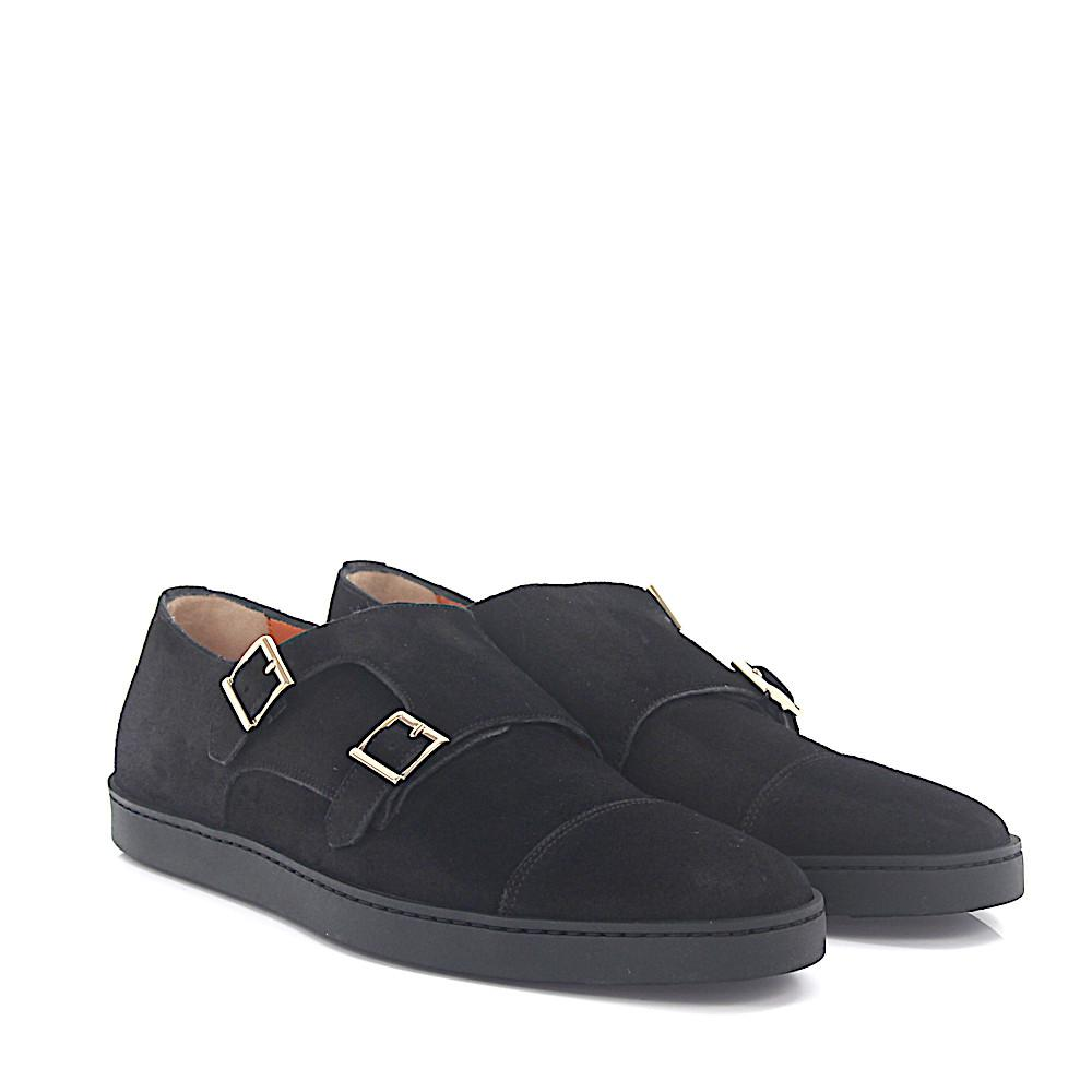 santoniSneakers double-monk-strap 15021 leather y29HetdaiK