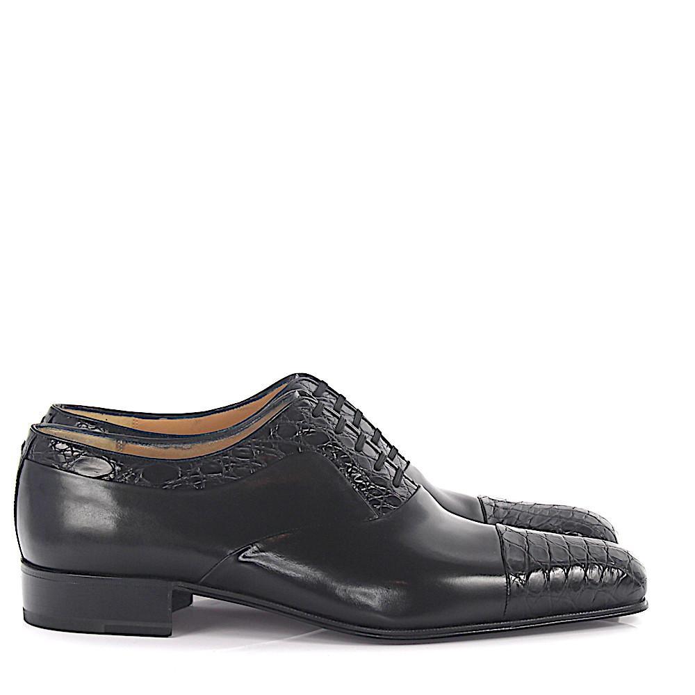 promo code 2060e 267ba artioli-black-Oxford-Shoes-Crocodile-Leather-Black.jpeg