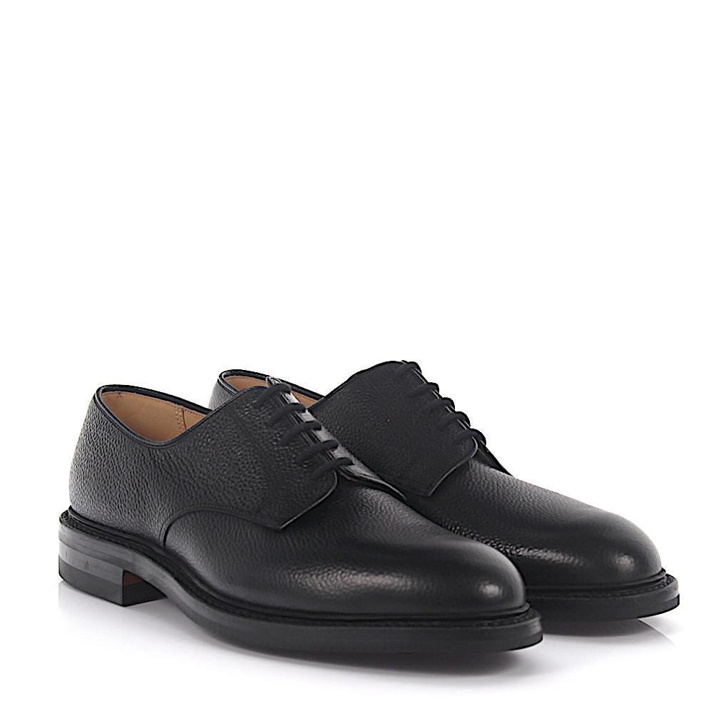 Derby Prestwood leather black Crockett & Jones MmSdpNC7