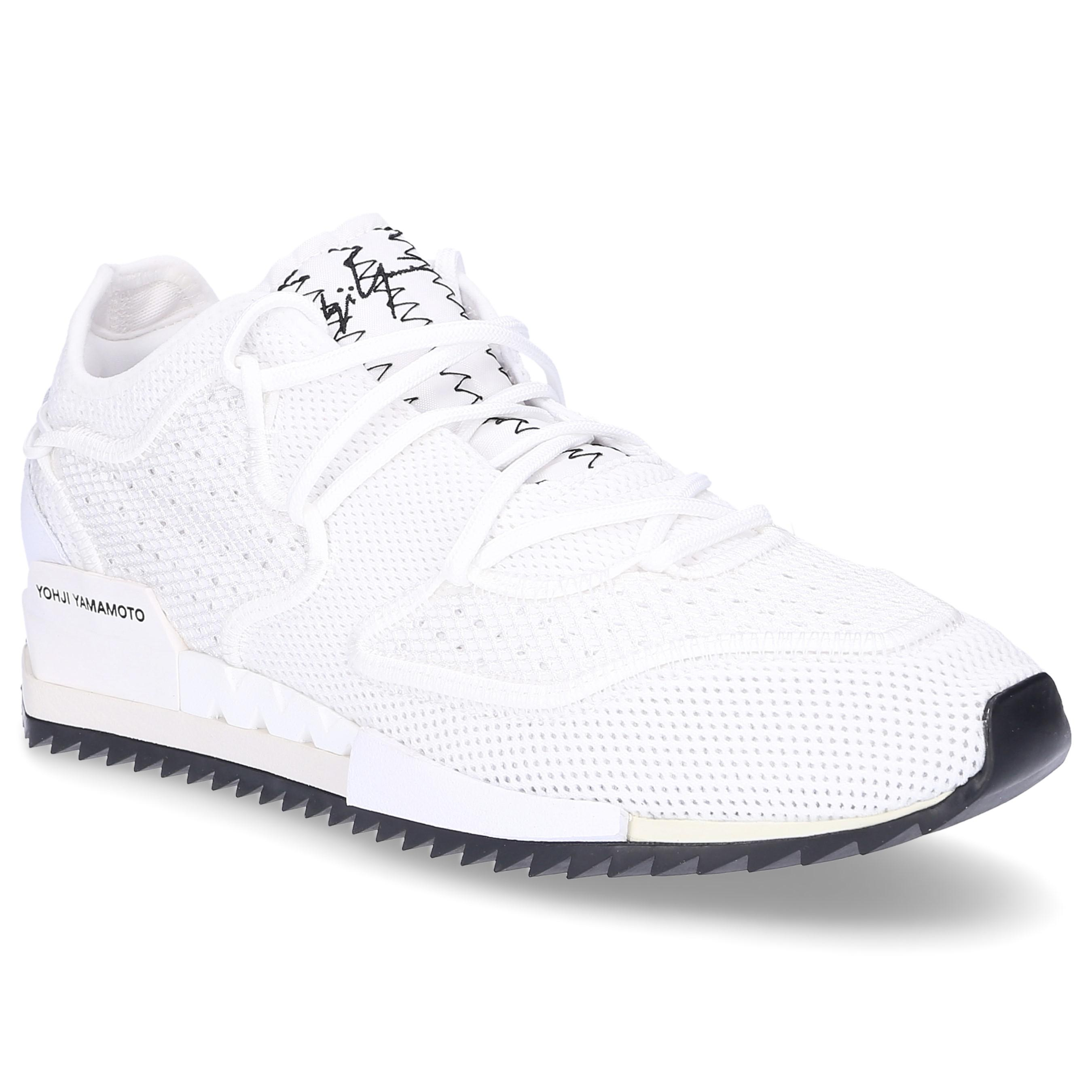 7dcbe6f5cc850 Lyst - Y-3 Low-top Sneakers Harigane Nylon Polyamide Logo White in ...