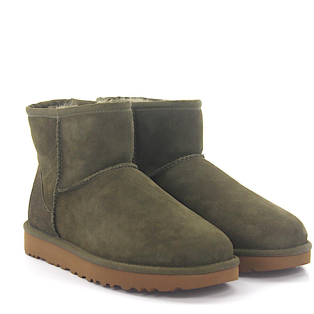 UGG Boots Classic Mini 2 suede lamb fur if4T0