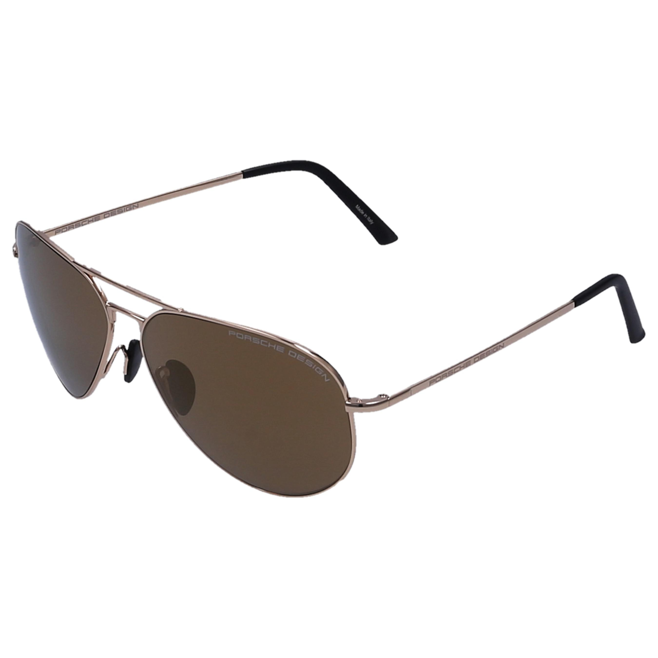 f84ab62c9d0 Porsche Design - Metallic Men Sunglasses Aviator 8508 Metal Gold for Men -  Lyst. View fullscreen