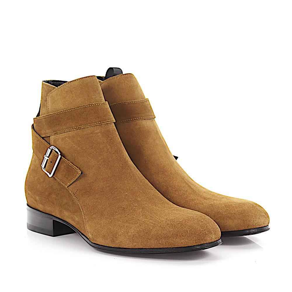 Balenciaga Boots Classic City Bootie suede ecg6E