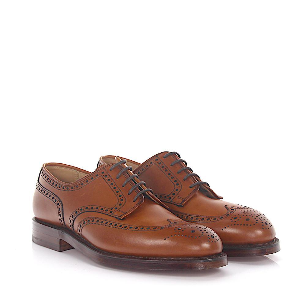 Budapester CARDIFF leather brown Crockett & Jones vNPjszzPF8