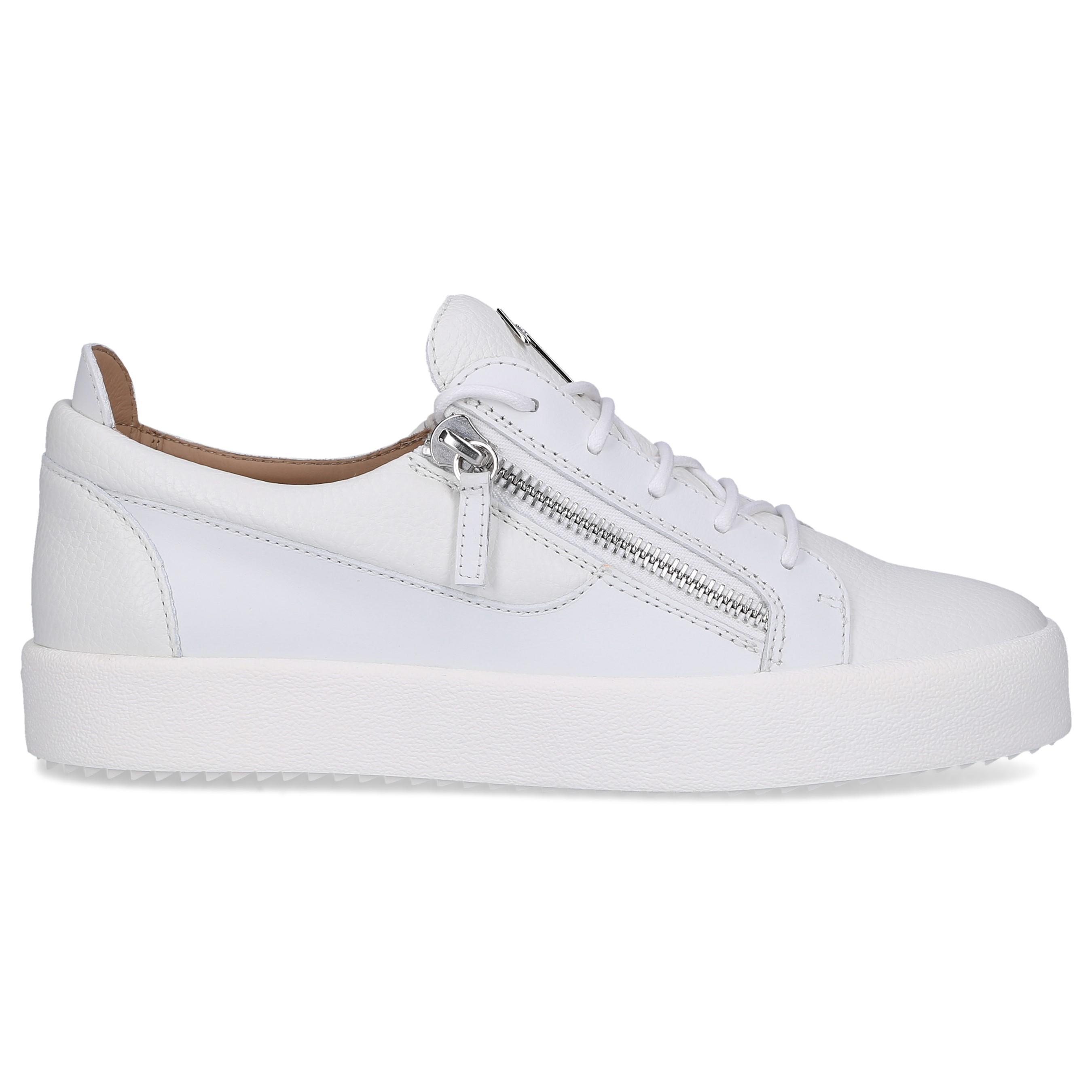 3ca55f74c982a Lyst - Giuseppe Zanotti Sneakers White Frankie in White for Men